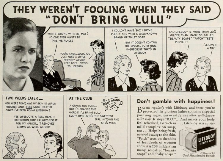 Don't bring Lulu - Lifebuoy soap from 1950