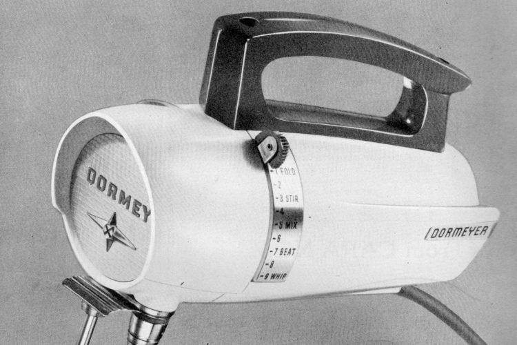 Dormeyer portable mixer with 9 speeds! (1957)
