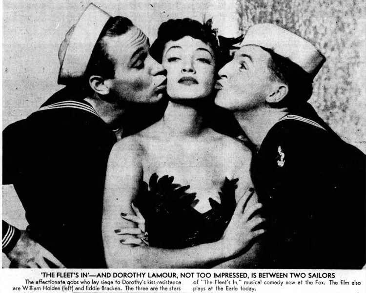 Dorothy Lamour 1942 - The Fleet's In movie