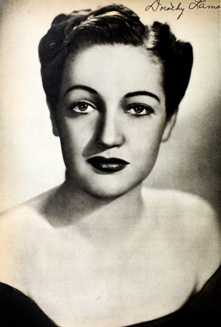 Dorothy Lamour portrait 1942