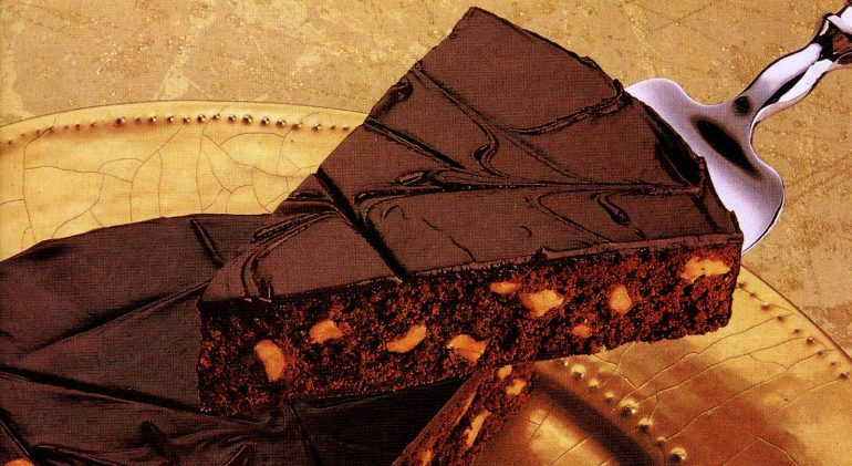 Double dark decadent brownie pie recipe 1987 - Divine decadence