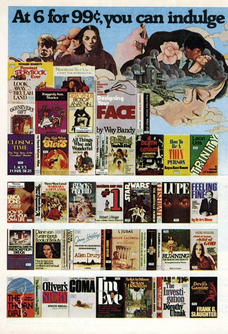 Doubleday Book Club - Fantasy romance books from 1978 (1)