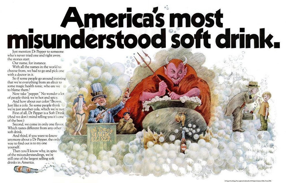 Dr Pepper - America's most misunderstood soft drink (1970)