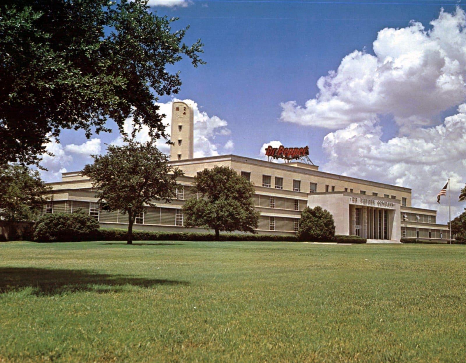 Dr Pepper headquarters in 1970