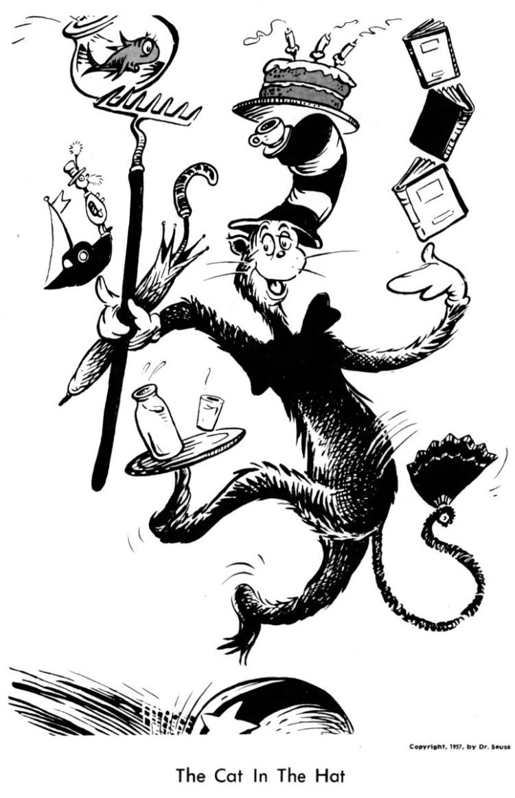 Dr Seuss illustrations from 1964 (1)