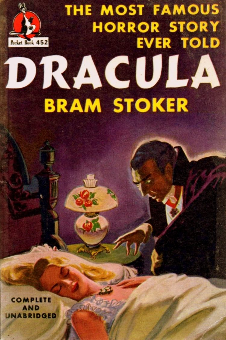 Dracula by Bram Stoker - 1947 edition