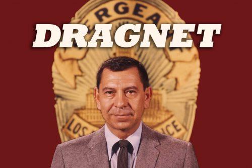 Dragnet TV show - Jack Webb