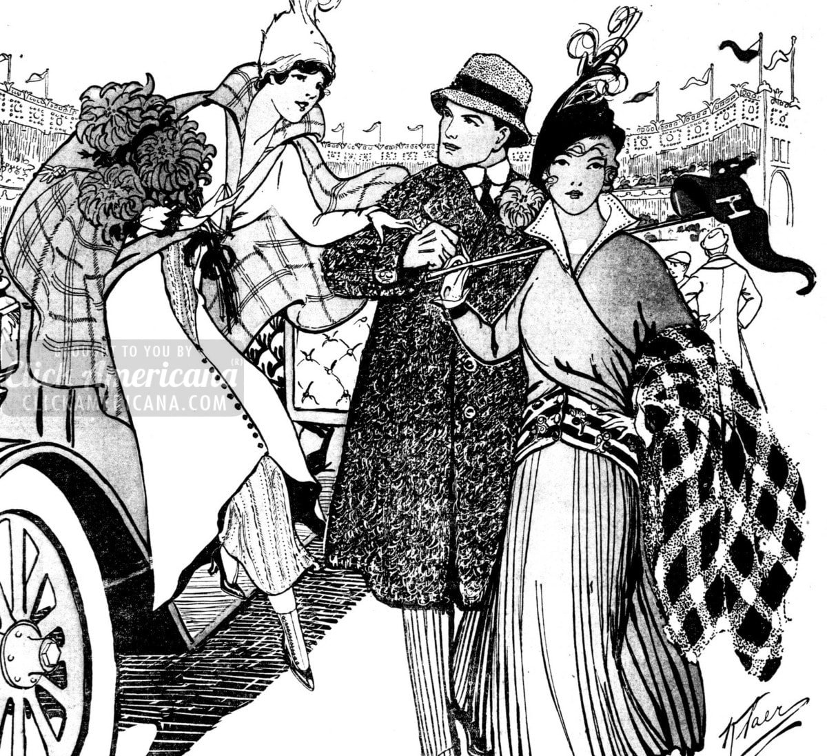 Clothing for women from the 1900s