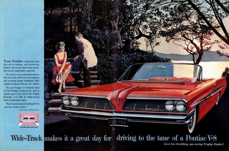 Drive to the tune of a Wide-Track Pontiac Trophy V-8 (1961)
