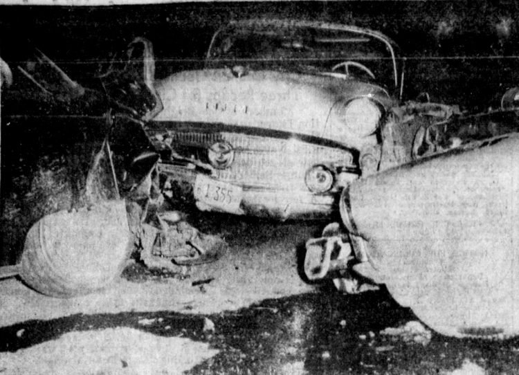 Dust storm pile-up from 1956