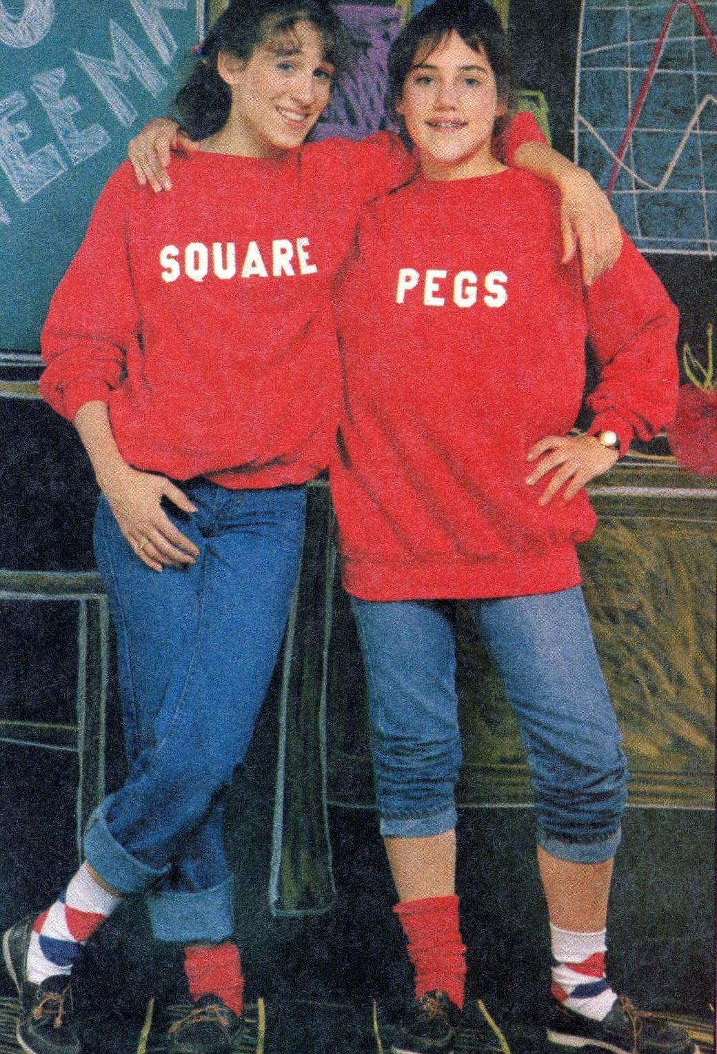 Dynamite 1983 - Square Pegs TV show stars