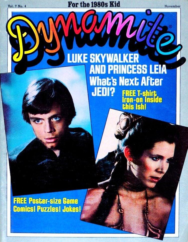 Dynamite 1983 Star Wars Jedi