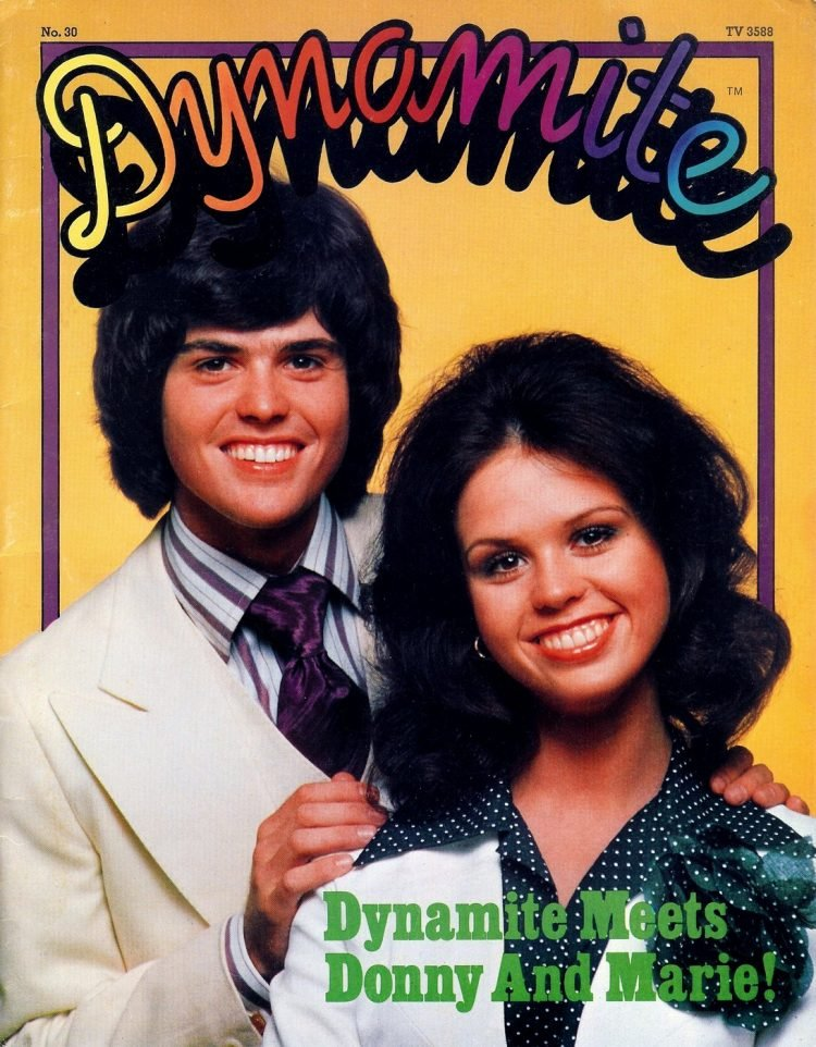 Dynamite Dec 1976 - Donny and Marie