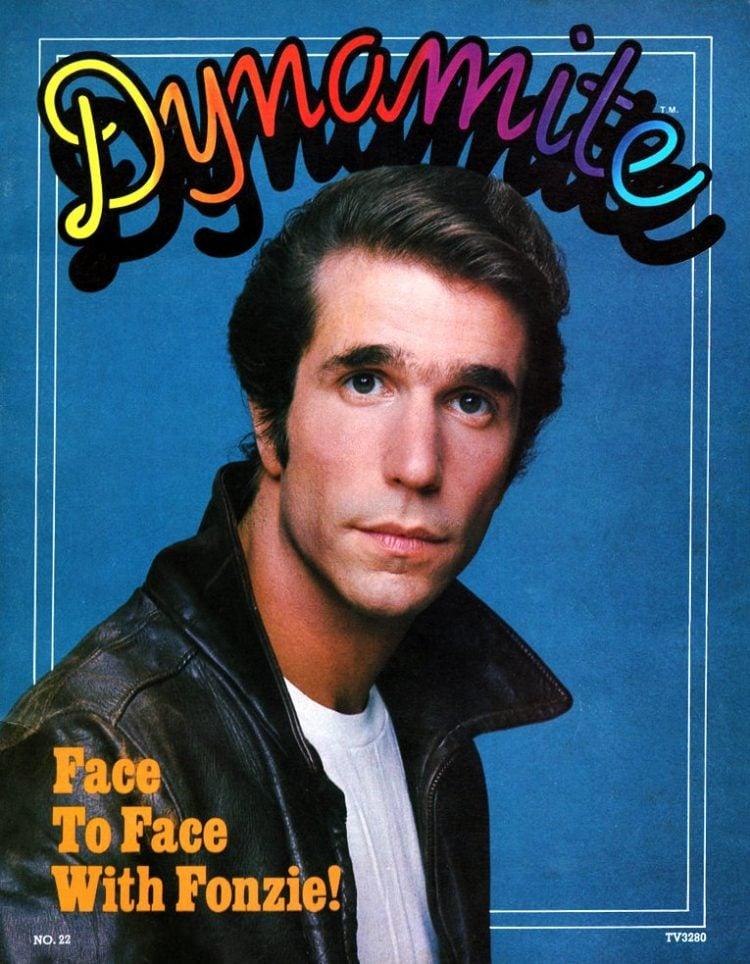 Dynamite Magazine Happy Days Fonzie