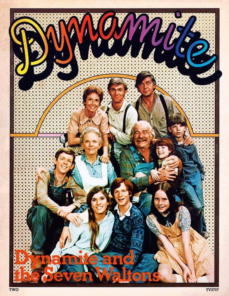 Dynamite Magazine issue 2 - April 1974 - The Waltons