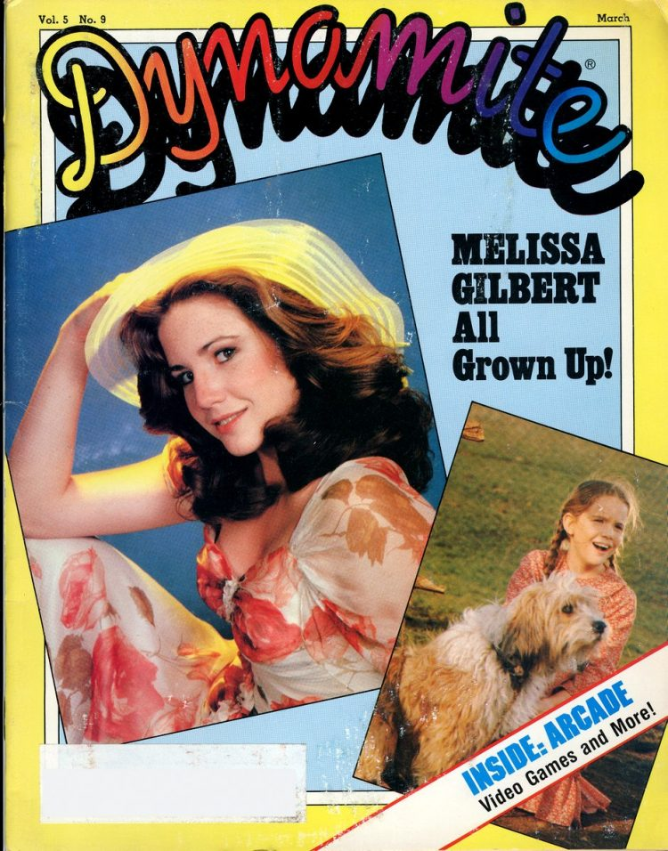 Dynamite - Melissa Gilbert All Grown Up! (March 1982)
