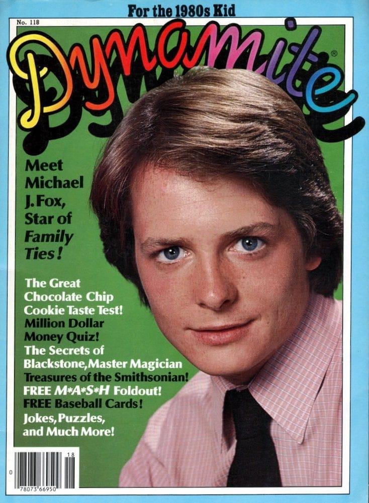 Dynamite Michael J Fox