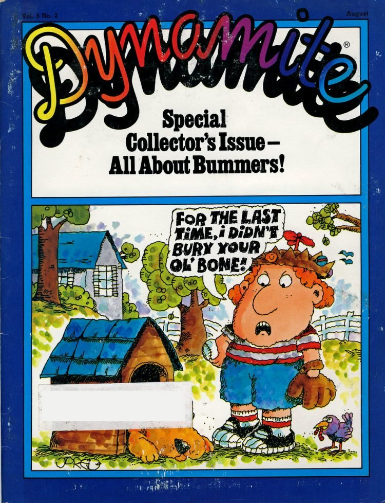 Dynamite Special Collector's Issue - All About Bummers! (August 1981)