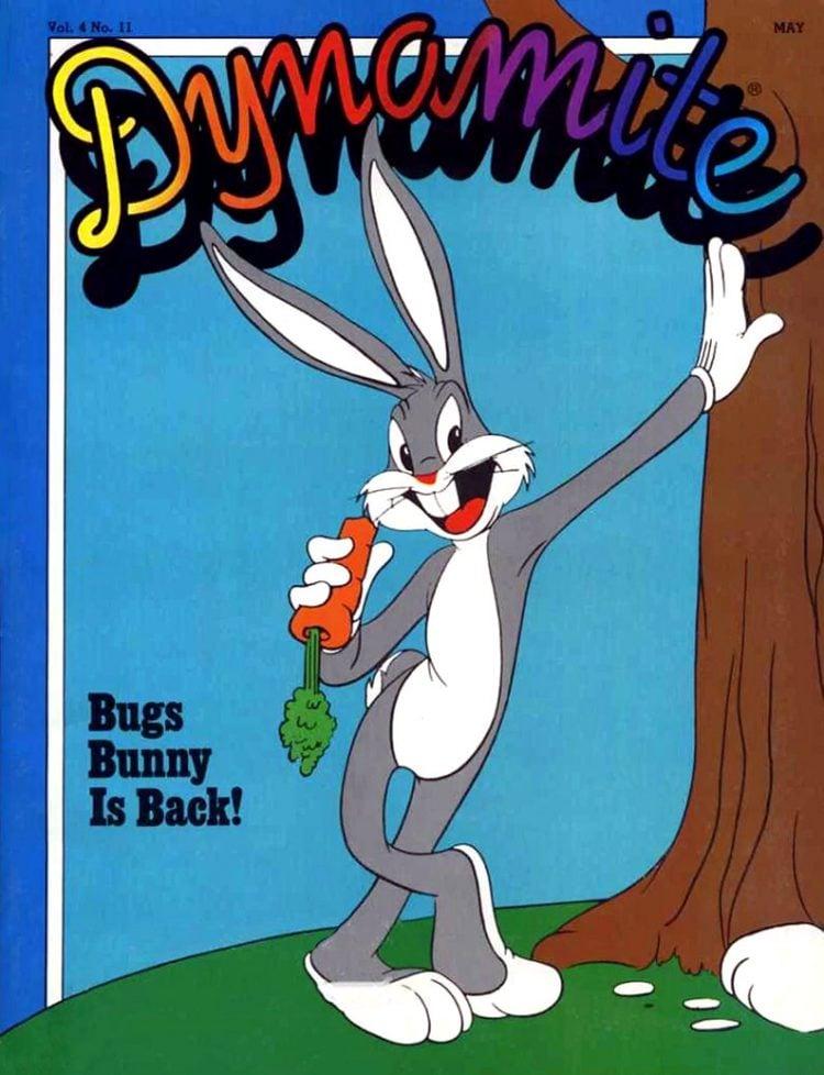 Dynamite magazine - Bugs Bunny - May 1981