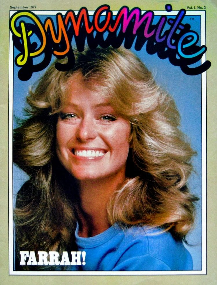 Dynamite magazine - Farrah Fawcett 1977