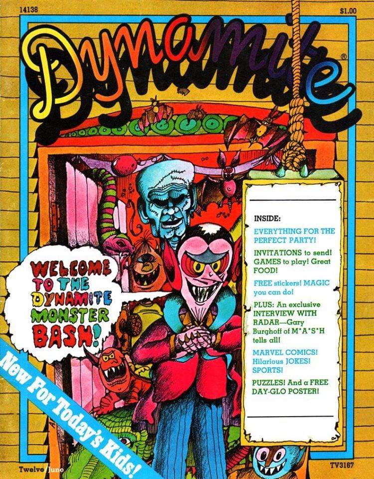 Dynamite magazine - June 1975 issue