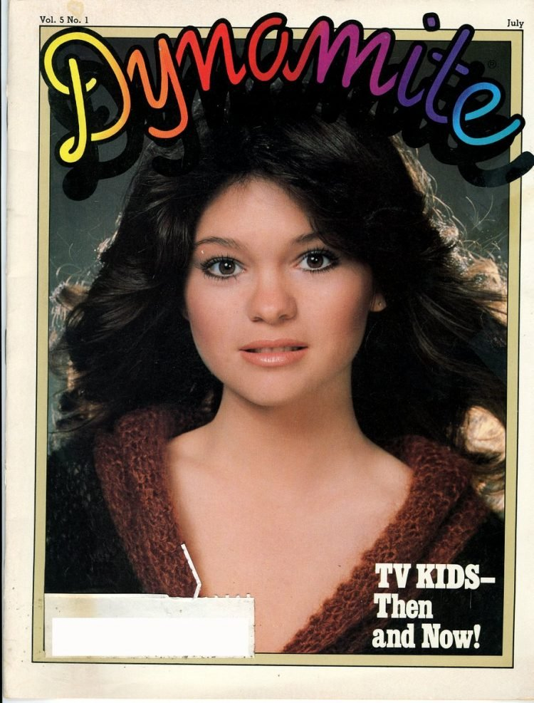 Dynamite magazine - One Day at a Time star Valerie Bertinelli