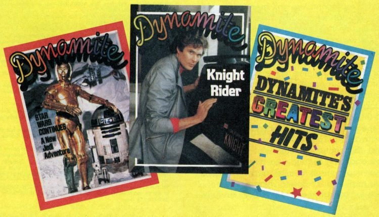 Dynamite magazine covers - 1983