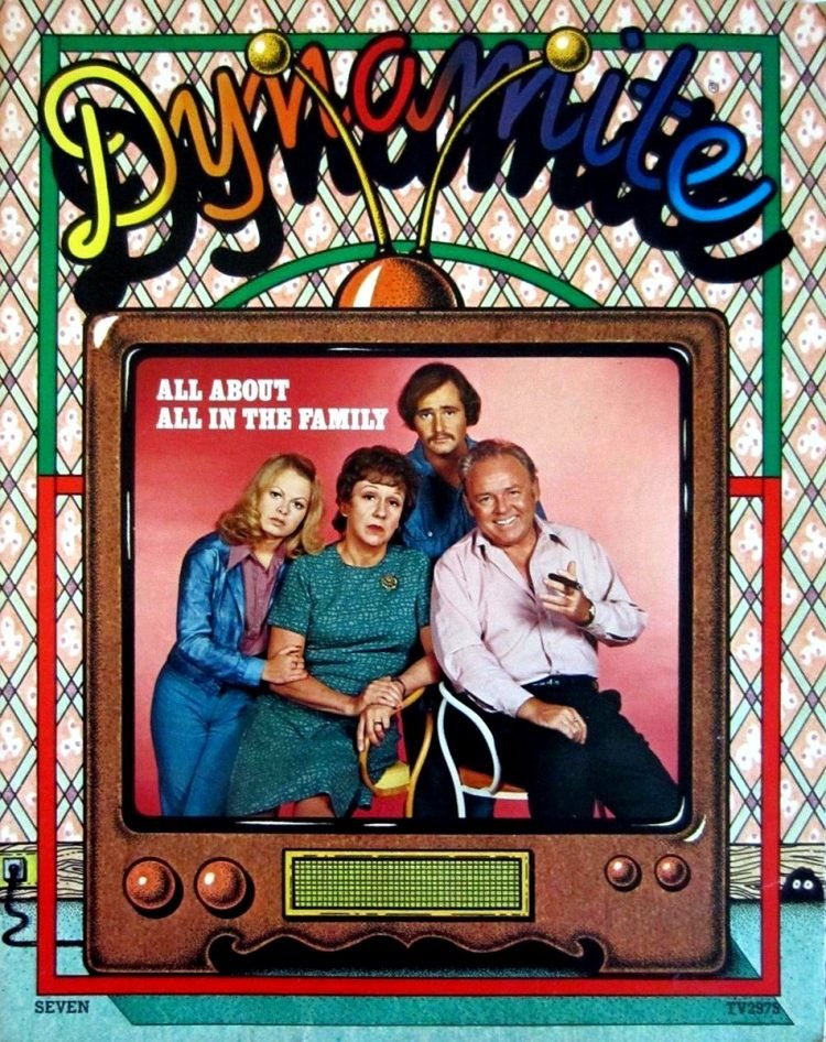Dynamite magazine with All in the Family