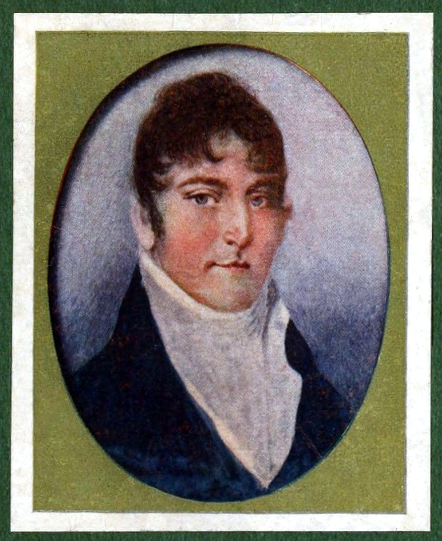 Early American portrait miniatures by William Dunlap 1820s (3)