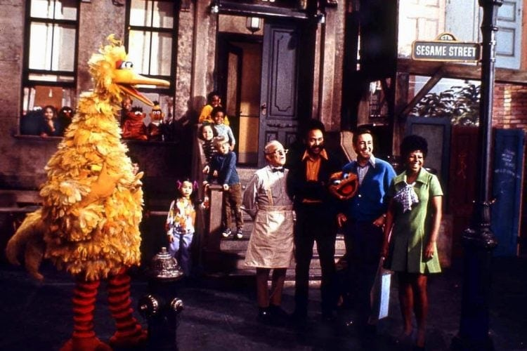 Early Sesame Street TV show cast