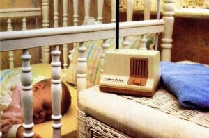 Early baby nursery monitors from Fisher-Price (1980s)