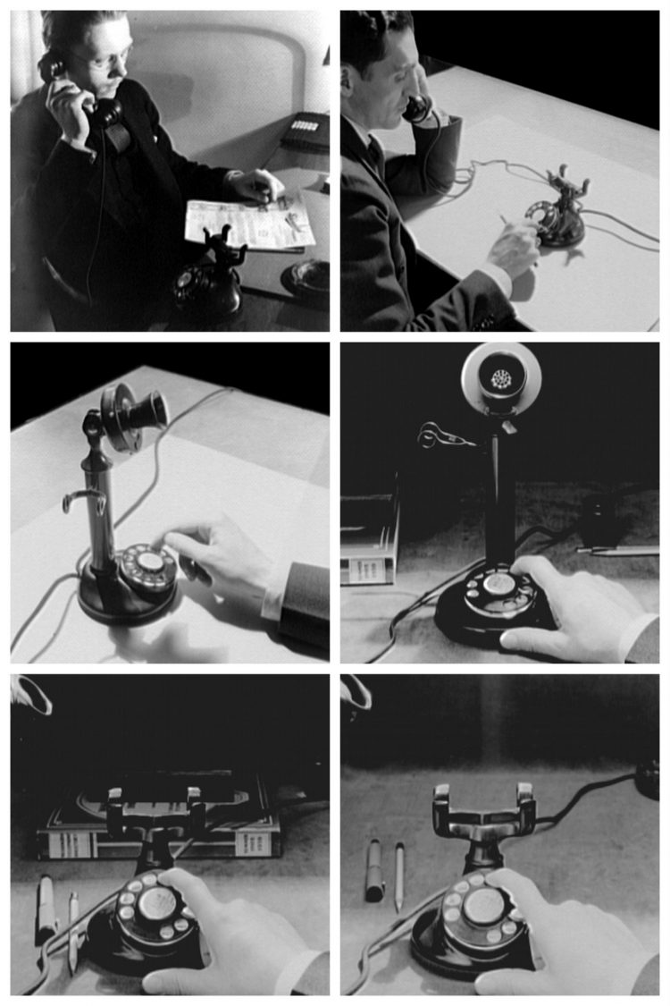 Early rotary-dial telephones (1920-1930)