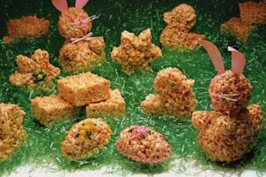 Easter Rice Krispies treats Bunnies, eggs more ideas 1982 (3)