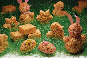 Easter Rice Krispies treats Bunnies, eggs more ideas 1982 (3)
