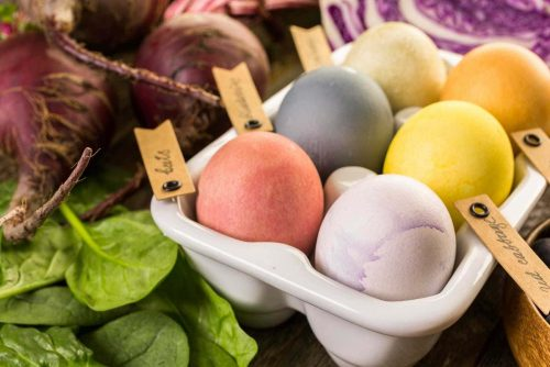How to make natural Easter egg dyes the old-fashioned way