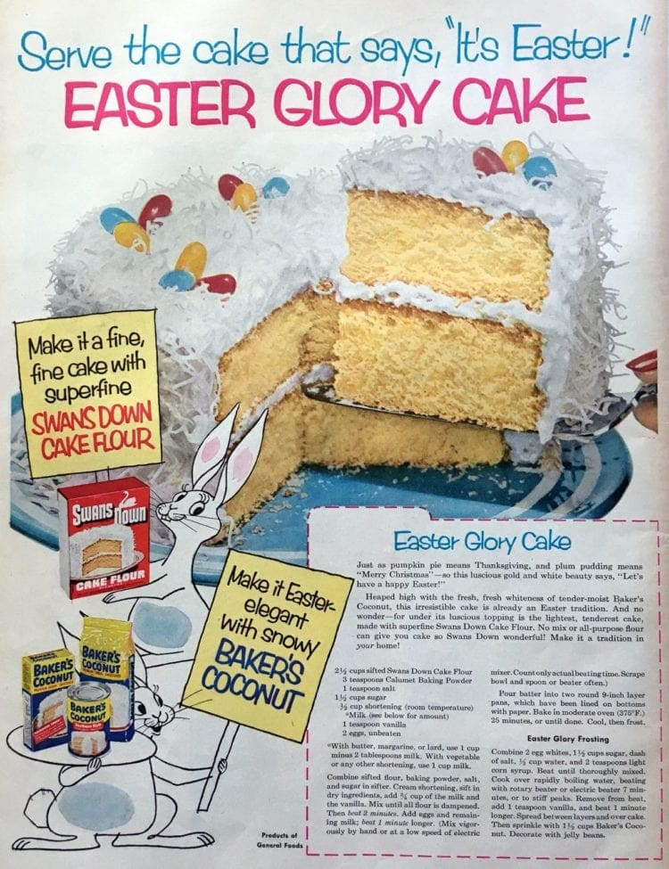 Easter glory cake recipe