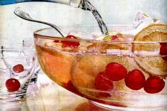 Ebony Dec 1959 Christmas punch bowl food drinks