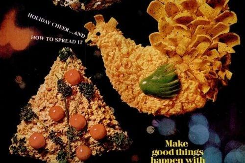 Ebony Dec 1968 Vintage Christmas appetizer recipes