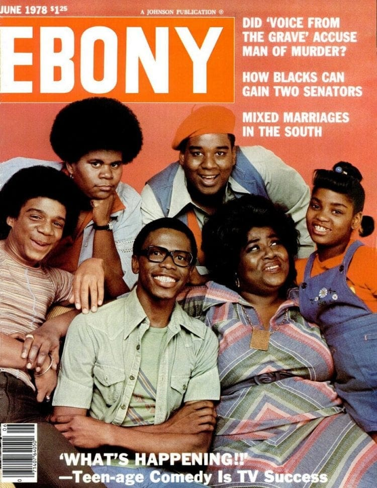 What's Happening - Ebony magazine cover
