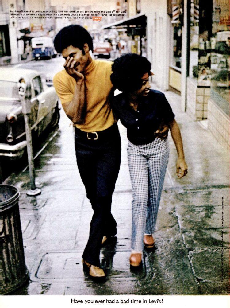 Ebony May 1970 Levis fashion
