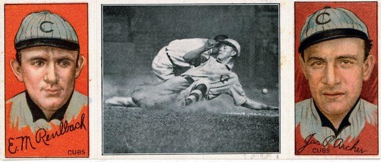 Ed. M. Reulbach and James P. Archer, Chicago Cubs, baseball 1912