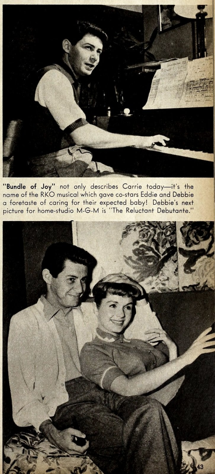 Eddie Fisher and Debbie Reynolds (1)