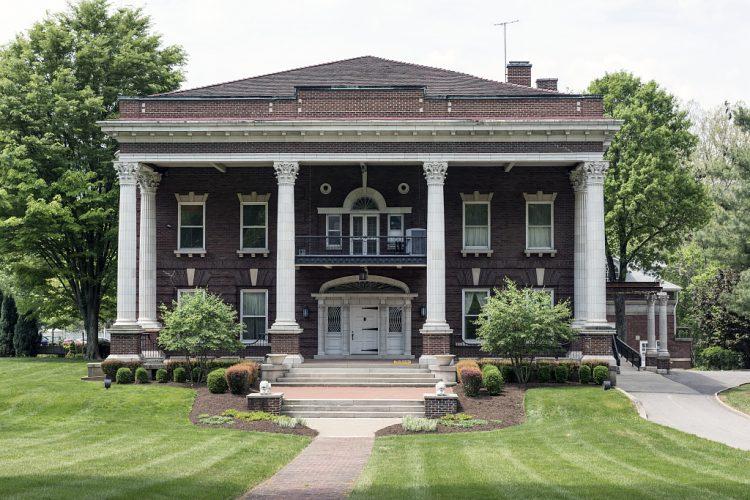 Edemar Mansion, later the Stifel Fine Arts Center, in Wheeling, West Virginia