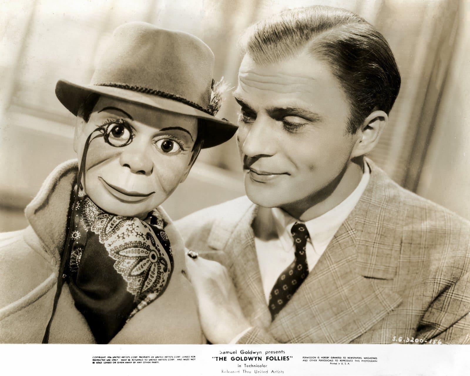 Edgar Bergen in The Goldwyn Follies