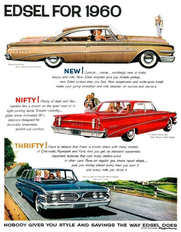 Edsel for 1960 - Vintage Ford cars