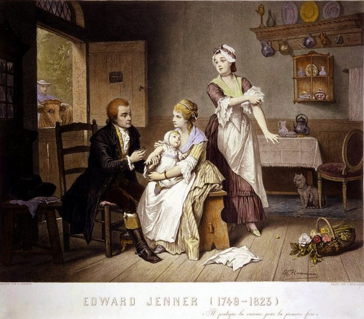 Edward Jenner - Smallpox vaccine 1790s