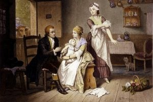 Edward Jenner - Smallpox vaccine 1790s