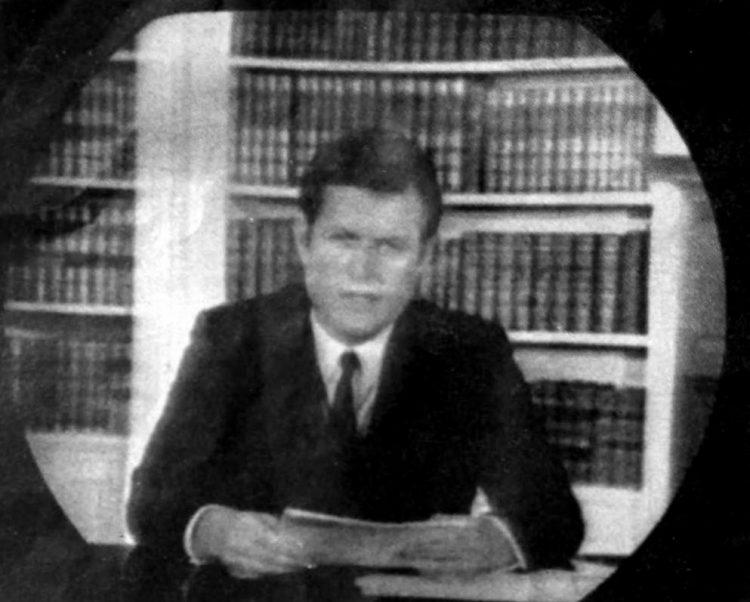 Edward Kennedy on TV