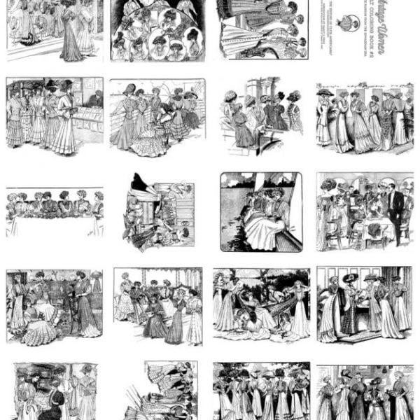 Edwardian Fashion coloring book 2 (2)