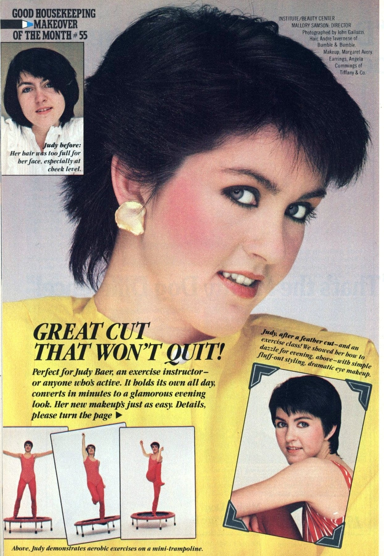 Eighties beauty makeover haircut that won't quit (1982)